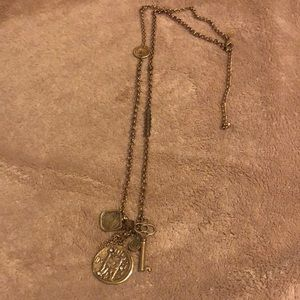 Chicos coin necklace